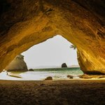 Arch to Cathedral Cove
