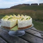 Lime & Ginger cheesecake