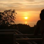 sunset from junior suite