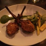 Amazing lamb chops