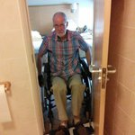 No entry for a wheelchair!