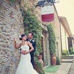 romantic wedding in Montelucci