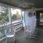 Deck at 'The Cottage'