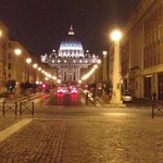 St Peters Basilica at Night