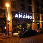 The AMANO by night
