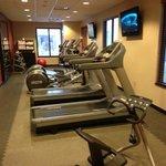 Hilton Garden Inn Kalispell gym