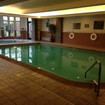 inside pool at Hilton Garden Inn Kalispell