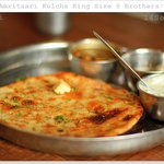 Same special Amritsari kulcha king size after 3 years!