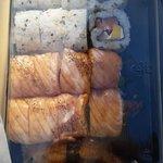 big portions, delicious maki!