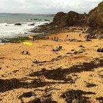 The beach at Hope cove