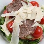 Острый салат с говядиной