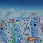 map of Kicking Horse Mountain