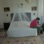 habitación romántica y muy amplia