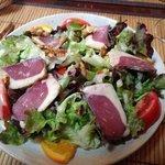 salade de magret de canard aux noix