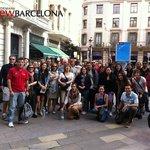 Antes de partir desde la plaza de Jaume I