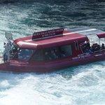 Huka Falls River Cruise - boat at Huka Falls