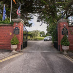Street at the Hayfield Manor Hotel