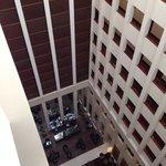 atrium from 9th floor