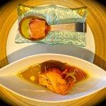 Swordfish Sushi & Tomato Sorbet