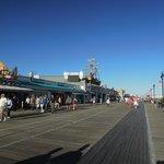 Ocean City Boardwalk (steps away)