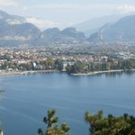 View from mountain  of Riva del Garda