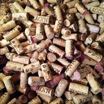 Our wine cork barrel