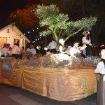 The Camargue rice parade