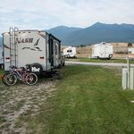 View of our RV site