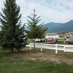 RV park behind the golf course