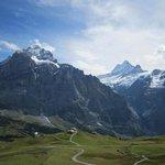 Mountains around Grindewald