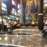 Lobby with Starbucks