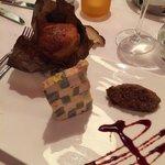 Pressé de foie gras et artichaut