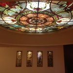 Beautiful Stained Glass Ceiling