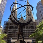 Atlas 'supporting' St Patrick's Cathedral ...Landmark Explorer