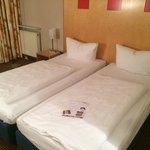 Bett Zimmer 205