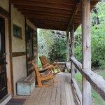 Front porch at Wasserfall