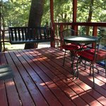 Front deck, cabin 3