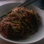 Shredded Pork with Soft Egg Noodles.