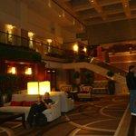adentro del hotel