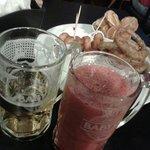 Chopp e suco