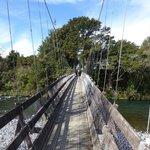 Tongariro River - bridge crossing