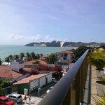 Vista de Ponta Negra do Praiamar hotel