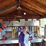 Nimpko Lake Resort, Fish Cleaning Station