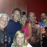 At the Flemings Wine Tasting - Bonita Wine Tasters group