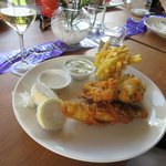 A first class Fish and chips