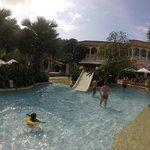 Small Slide in kids pool
