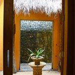 entrance to Azure suite