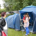 grate fun putting tent up