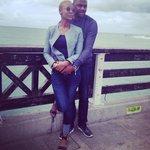 Mr & Mrs Mataruka enjoying the PE beach