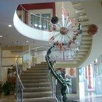 Красивая лестница.